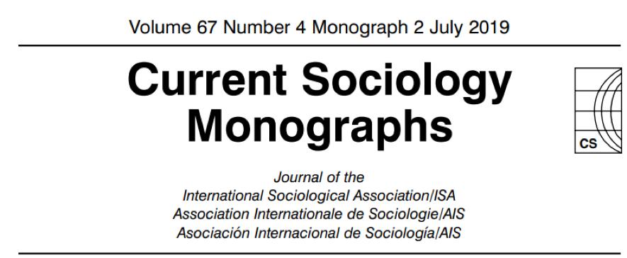 Current Sociology