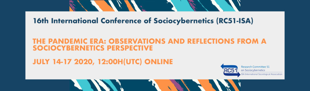 16th International Conference of Sociocybernetics (RC51-ISA)