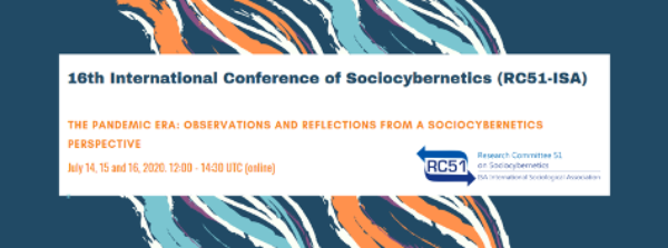 16th inteernational Conference of Sociocybernetics RC51-ISA